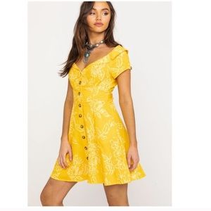 NWT! Free People A Thing Called Love Linen Dress